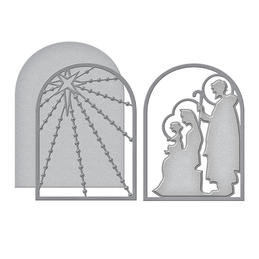S4-1006 Spellbinders NATIVITY LAYERING Etched Dies  zoom image