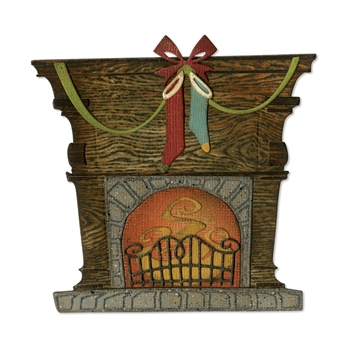 Tim Holtz Sizzix FIRESIDE Thinlits Dies 664193