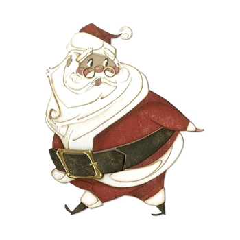 Tim Holtz Sizzix JOLLY ST. NICKS Thinlits Dies 664198