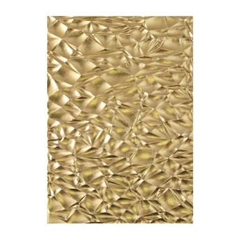 Tim Holtz Sizzix CRACKLE 3D Texture Fades Embossing Folder 664171