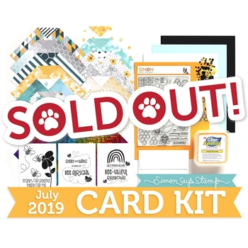 Simon Says Stamp Card Kit of The Month JULY 2019 BEE YOURSELF ck0719