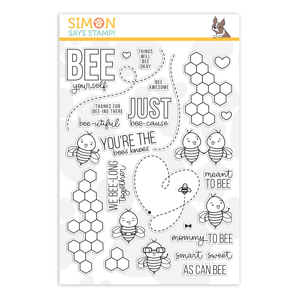 Simon Says Clear Stamps BEE YOURSELF sss201902 zoom image