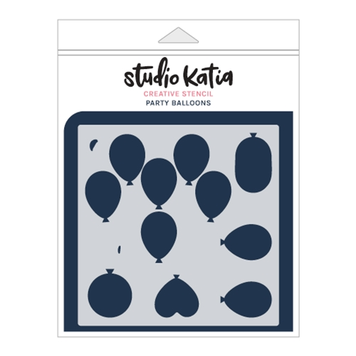 Studio Katia PARTY BALLOONS Stencil sks014 Preview Image
