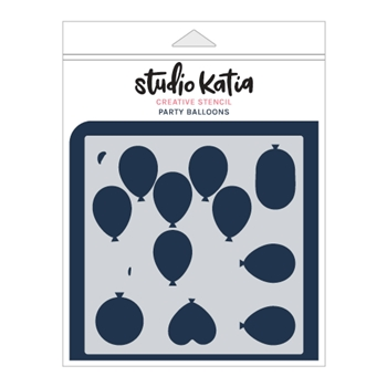 Studio Katia PARTY BALLOONS Stencil sks014