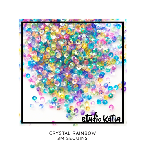 Studio Katia 3M CRYSTAL RAINBOW Sequins sk2894 Preview Image