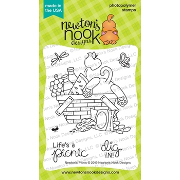 Newton's Nook Designs NEWTON'S PICNIC Clear Stamps NN1906S02