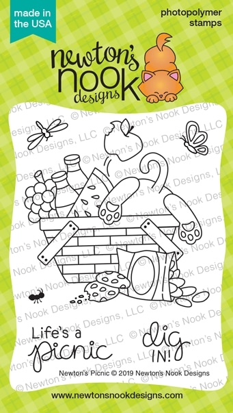 Newton's Nook Designs NEWTON'S PICNIC Clear Stamps NN1906S02 zoom image