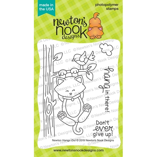 Newton's Nook Designs NEWTON HANGS OUT Clear Stamps NN1906S03 Preview Image