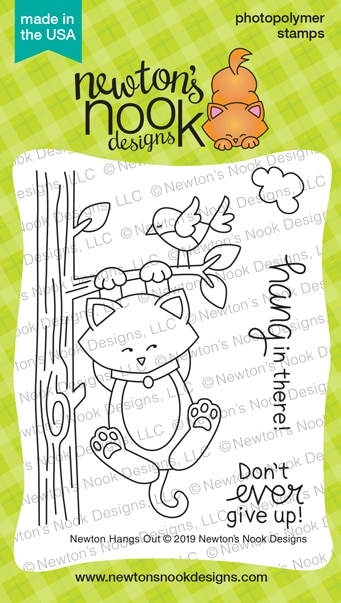Newton's Nook Designs NEWTON HANGS OUT Clear Stamps NN1906S03 zoom image
