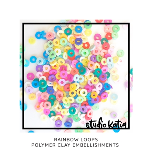 Studio Katia RAINBOW LOOPS Polymer Clay Embellishments sk2443 Preview Image