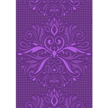 Crafter's Companion ORNATE FLOURISH Gemini A6 3D Embossing Folder gem-efa6-3d-of