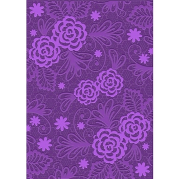 Crafter's Companion BLOSSOMING LACE Gemini A6 3D Embossing Folder gem-efa6-3d-bl