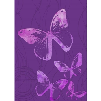 Crafter's Companion FLUTTERING BY Gemini 3D Embossing Folder And Stencil gem-ef5-3d-flby