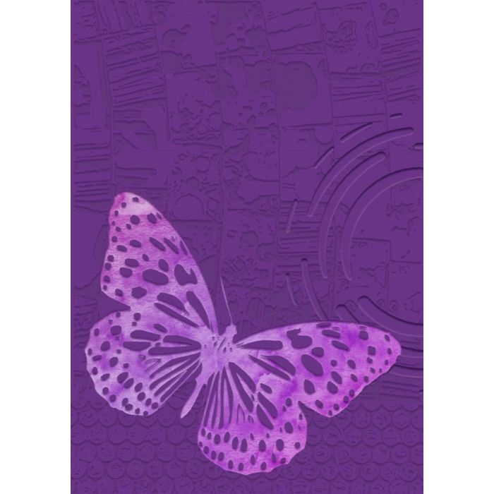 Crafter's Companion BUTTERFLY EFFECT Gemini 3D Embossing Folder And Stencil gem-ef5-3d-buef zoom image