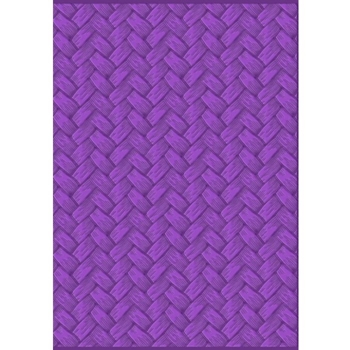 Crafter's Companion BASKET WEAVE Gemini 3D Embossing Folder And Stencil gem-ef5-3d-bw