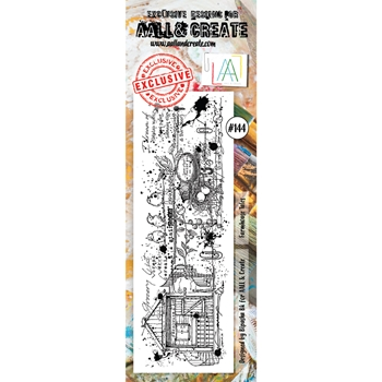 AALL & Create FARMHOUSE TALES 144 Clear Stamp aal00144