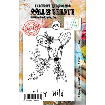 AALL & Create DEER 222 Clear Stamps aal00222
