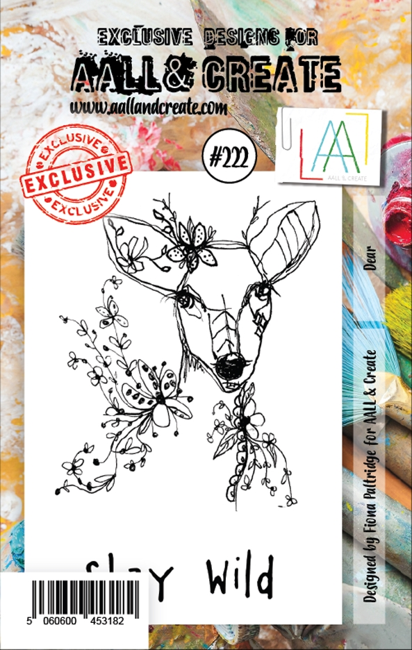 AALL & Create DEER 222 Clear Stamps aal00222 zoom image