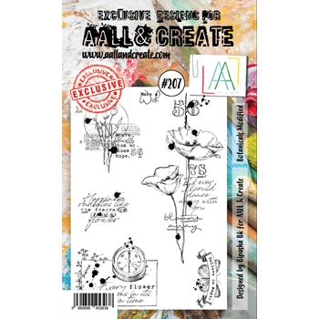AALL & Create BOTANICALS MODIFIED 207 Clear Stamps aal00207