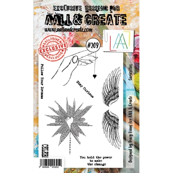 AALL & Create CURIOSITIES 209 Clear Stamps aal00209