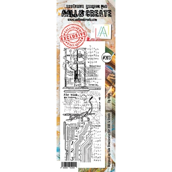 AALL & Create FLY HIGH 203 Clear Stamp aal00203