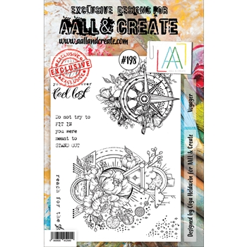 AALL & Create VOYAGER 198 Clear Stamp aal00198
