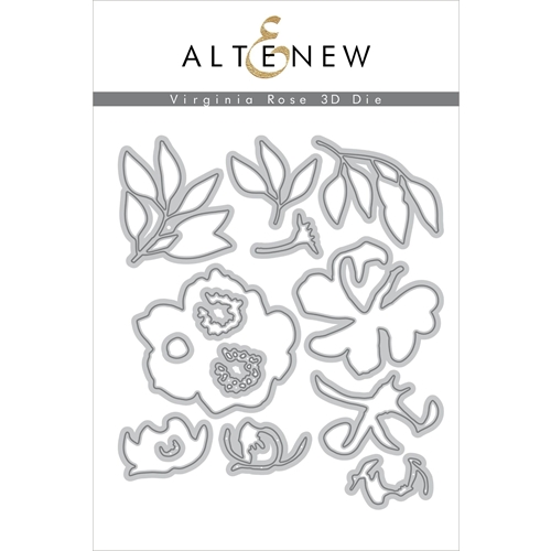 Altenew VIRGINIA ROSE 3D Dies ALT3364  Preview Image