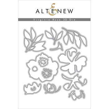 Altenew VIRGINIA ROSE 3D Dies ALT3364