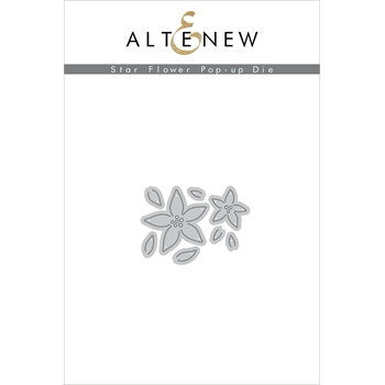 Altenew STAR FLOWER POP - UP Dies ALT3363