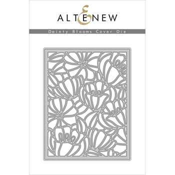 Altenew DAINTY BLOOMS Cover Die ALT3359