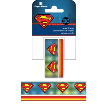 Paper House SUPERMAN LOGO Washi Tape Set STWA-0020E