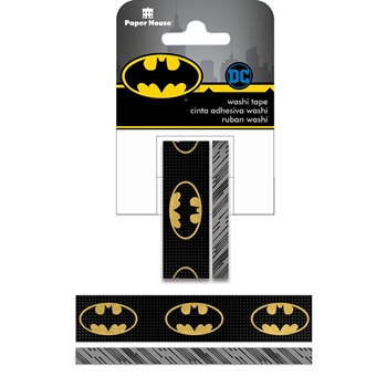 Paper House BATMAN LOGO Washi Tape Set STWA-0019E