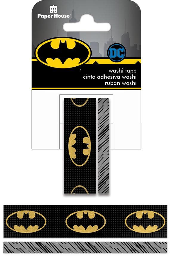 Paper House BATMAN LOGO Washi Tape Set STWA-0019E zoom image