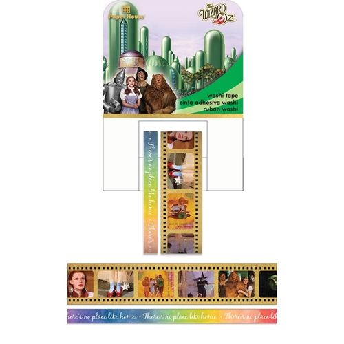 Paper House WIZARD OF OZ Washi Tape Set STWA-0021E Preview Image
