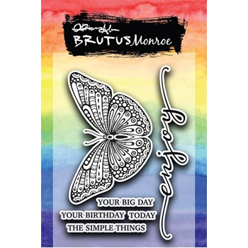 Brutus Monroe Clear Stamps TAKE FLIGHT bru4331