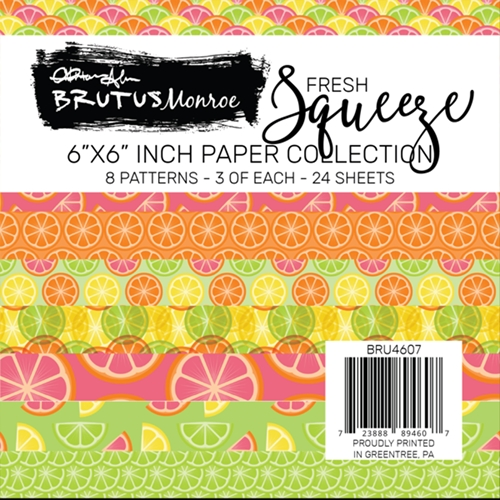 Brutus Monroe FRESH SQUEEZE 6x6 Paper Pad bru4607 Preview Image