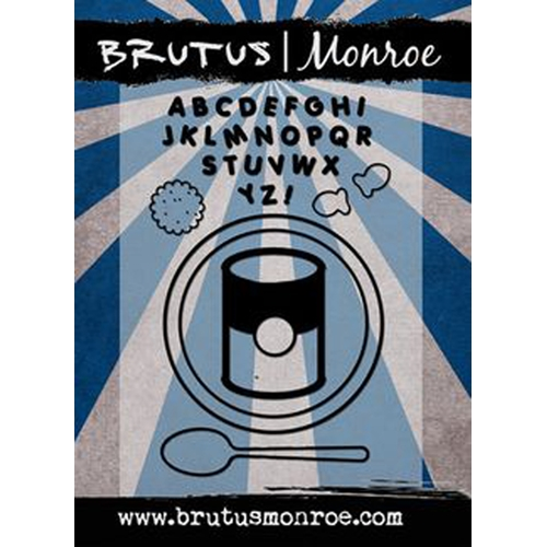 Brutus Monroe Clear Stamps ALPHABET SOUP bru4522 Preview Image