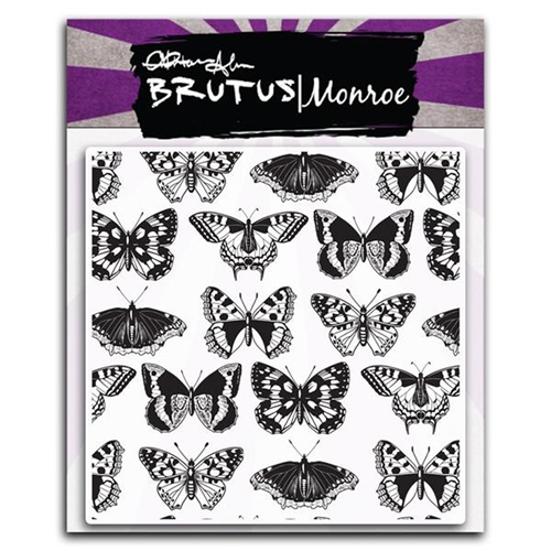 Brutus Monroe Clear Stamps SWALLOWTAIL bru6456 Preview Image
