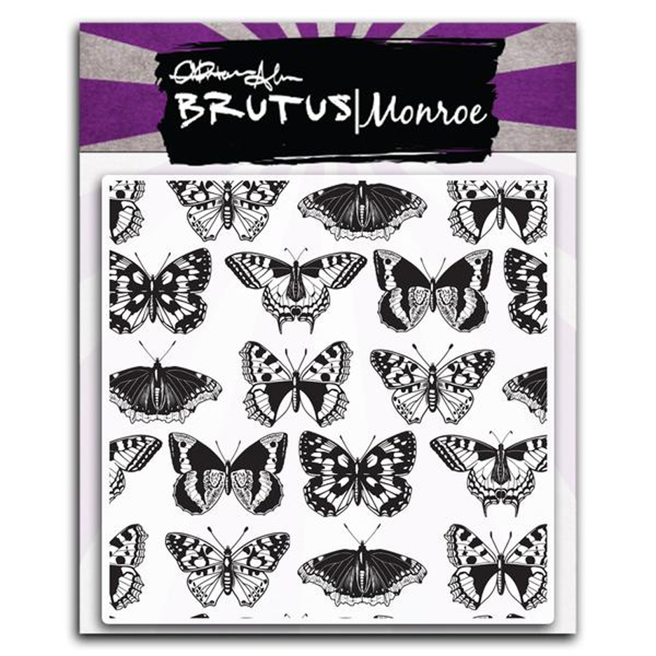 Brutus Monroe Clear Stamps SWALLOWTAIL bru6456 zoom image