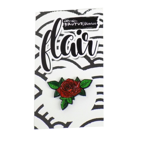 Brutus Monroe BEAUTIFUL BLOOMS ROSE Collectible Enamel Pin bru4737 Preview Image