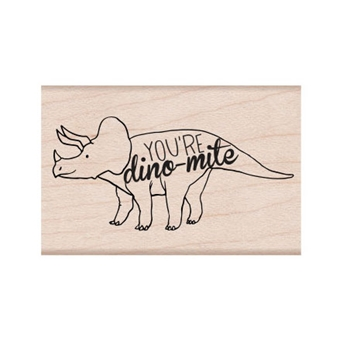 Hero Arts Rubber Stamp DINO-MIGHT E6333