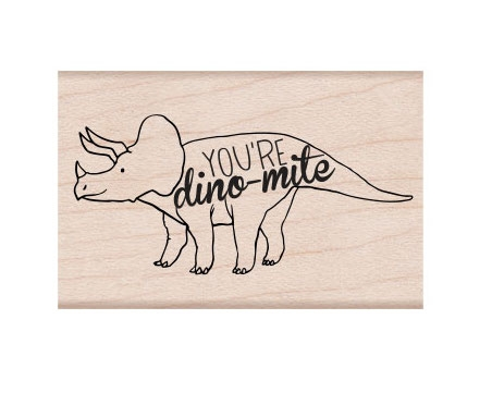 Hero Arts Rubber Stamp DINO-MIGHT E6333 zoom image