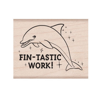 Hero Arts Rubber Stamp FIN-TASTIC E6336