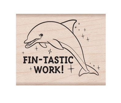 Hero Arts Rubber Stamp FIN-TASTIC E6336 zoom image