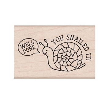 Hero Arts Rubber Stamp SNAILED IT E6667