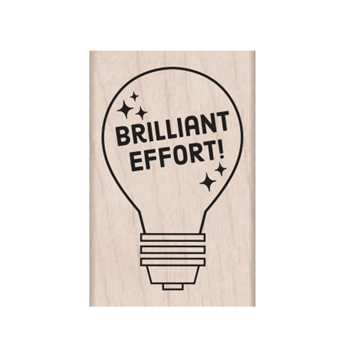 Hero Arts Rubber Stamp BRILLIANT EFFORT E6339