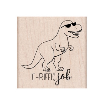 Hero Arts Rubber Stamp T-RIFFIC F6331