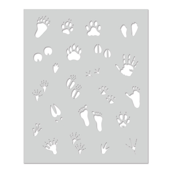 Hero Arts Stencil ANIMAL PRINTS SA130