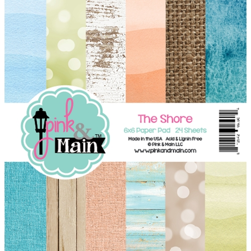 Pink and Main 6x6 THE SHORE Paper Pad 025628 Preview Image