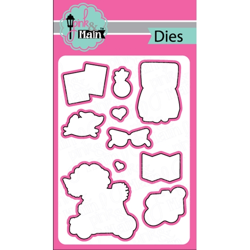 Pink and Main TRAVEL BUDDY Dies PNM222 Preview Image